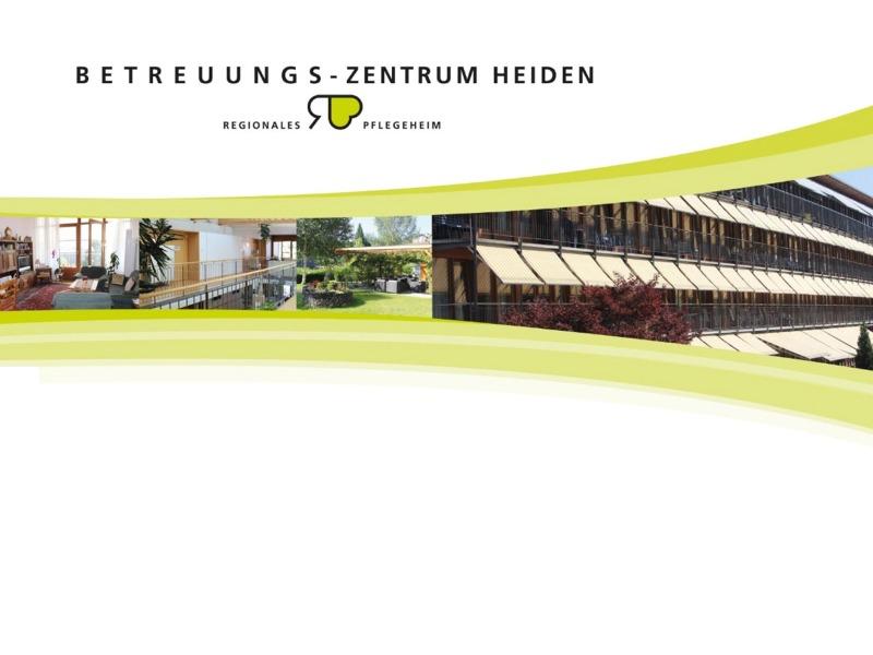 Jahresbericht Betreuungs-Zentrum Heiden