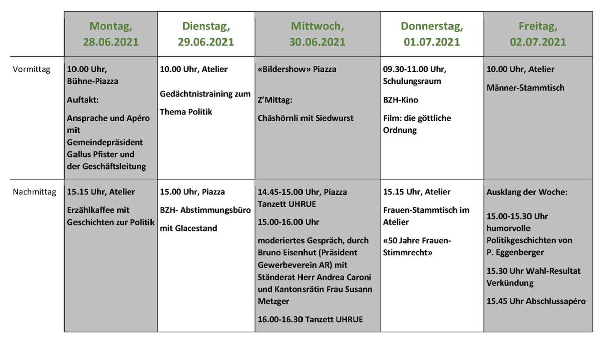 Unsere Veranstaltungen im Juni